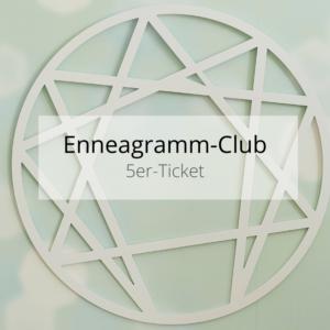 5er-Ticket Enneagramm-Club - Online-Stammtisch